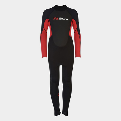 Gul Contour Wetsuit Full Length Junior Boys