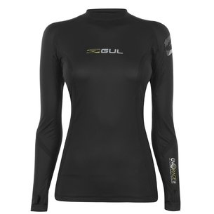 Gul EVORACE Long Sleeve Rash Vest Ladies