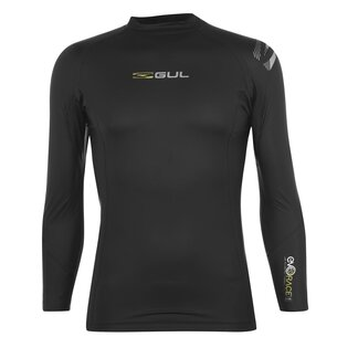 Gul EVORACE Long Sleeve Rash Vest Mens
