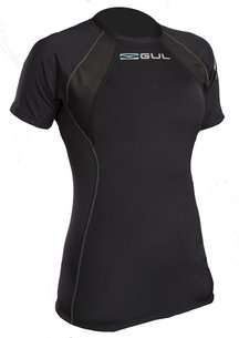 GUL EVOLITE LADIES FL THERMAL SHORT SLEEVE TOP