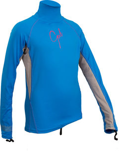 GUL GIRLS FL LONG SLEEVE RASHGUARD