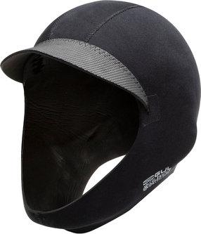 PEAKED 3MM METALITE SURF CAP