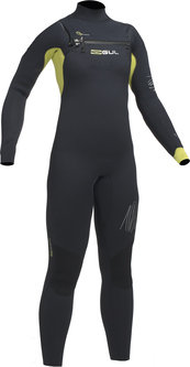 Response Junior Chest Zip 5/4mm BS Wetsuit