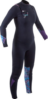Response FX Ladies CZ 5/4mm BS Wetsuit
