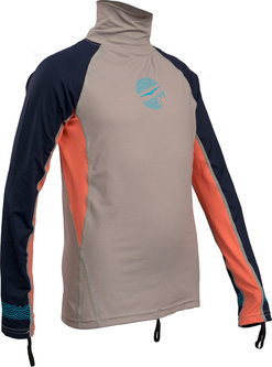 GIRLS FL LONG SLEEVE RASHGUARD