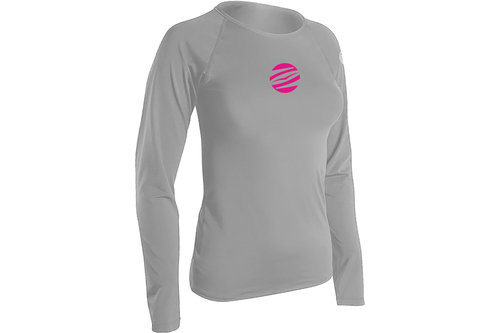 LADIES TEE FIT LONG SLEEVE RASHGUARD